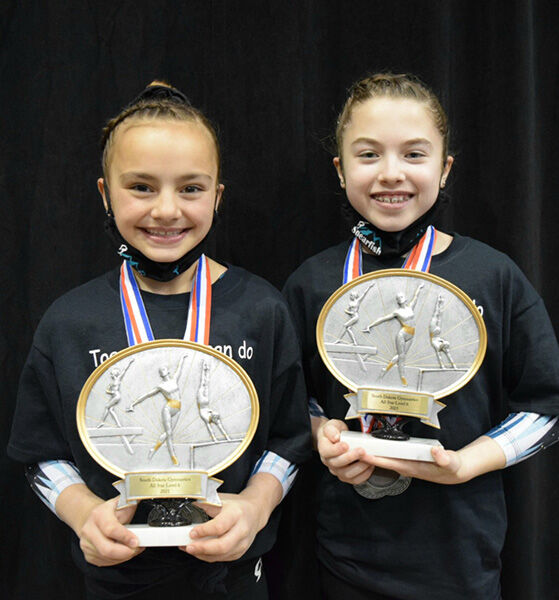 SGA Optional teams shine at the USAG state gymnastics meet