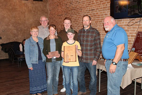 Crow Peak Brewing Co., Doerges family honored as Distinguished Hatchery Friends