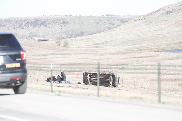 Rollover crash prompts LifeFlight response