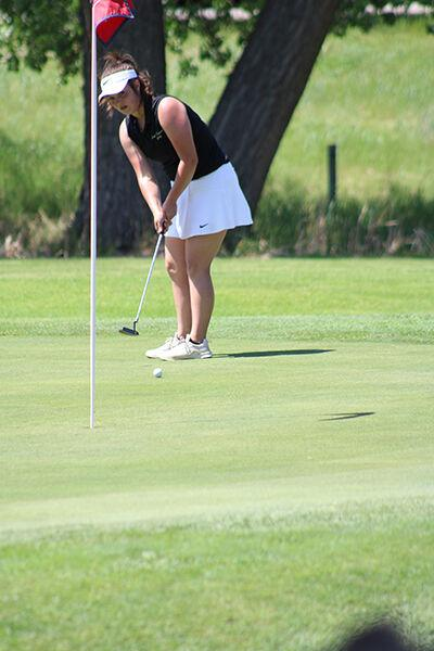 Girls state Class A Golf Championships finish Day One