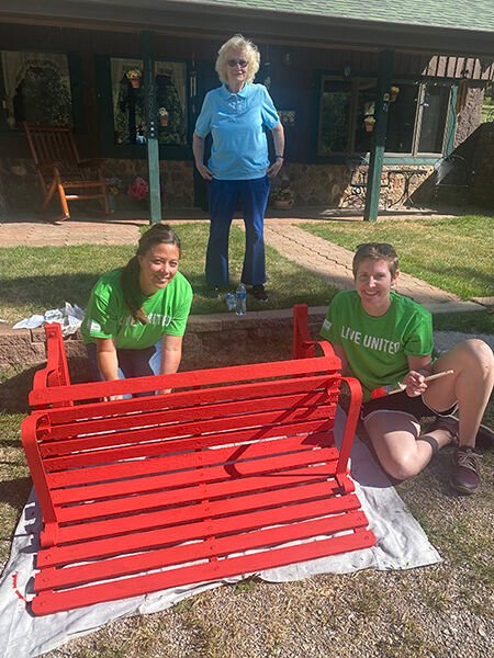 Coeur-Wharf employees volunteer with Month of Caring projects in Lead