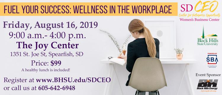 Flyer for Fuel Your Success: Wellness in the Workplace