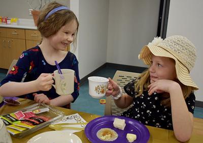 Youth enjoy Royal Tea Party