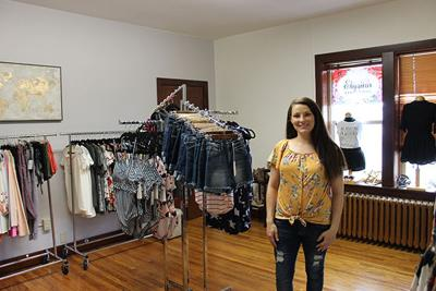 Elysian Clothing open in Old City Hall on Spearfish Main St.