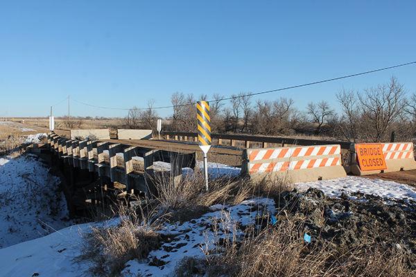 Orman Rd. Bridge closed Thursday