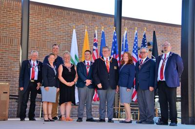 Deadwood Elks Lodge celebrates Flag Day at Outlaw Square