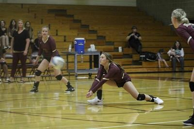 L-D volleyballers sweep Lady Moguls