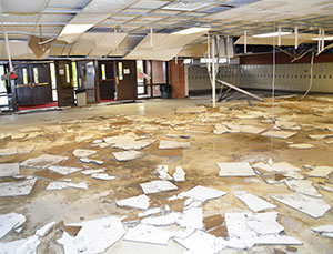 Blizzard Causes Roof Collapse At Sturgis Middle School