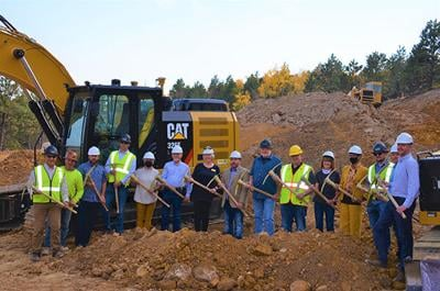 Deadwood officials celebrate additional housing with Deadwood Stage Run groundbreaking