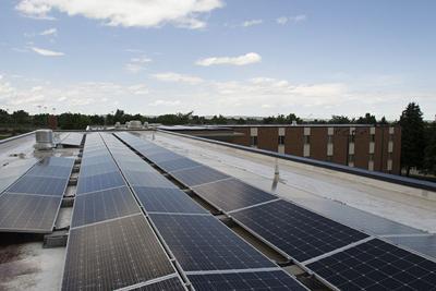 BHSU completes solar panel installation on Thomas Hall