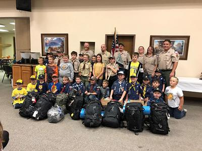 Cub Scouts launch 'Veterans Holiday Relief Drive'