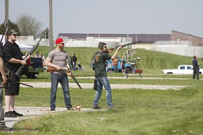 Area trap shooters get together on Thursday nights