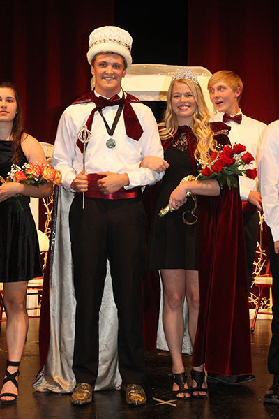SHS crowns homecoming king and queen
