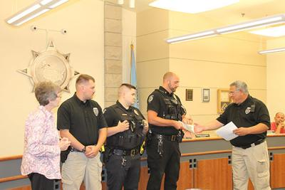 3 Belle Fourche police officers recognized with lifesaver awards