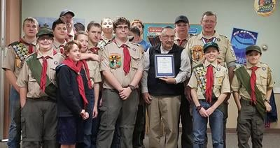Spearfish Boy Scouts recognize American Legion Post 164 for 90 years of continuous support