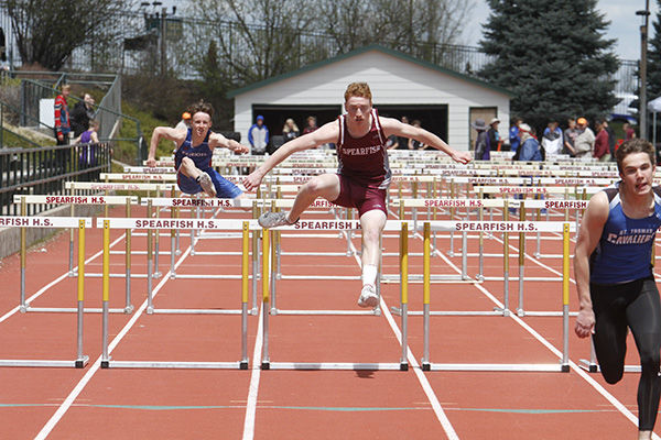 Area track athletes compete at BHC meet