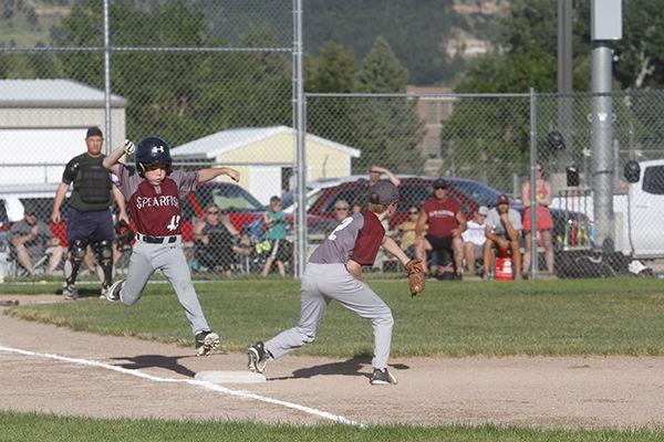 Youth baseball teams meet in Spearfish