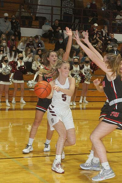 Spearfish girls fall twice to open basketball season