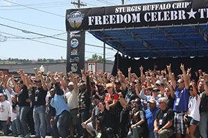 Freedom Ride celebrates those who served