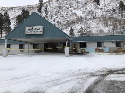 Fire damages Black Hills Inn