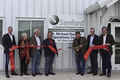 Sanford Lab dedicates M. Michael Rounds Operations Center