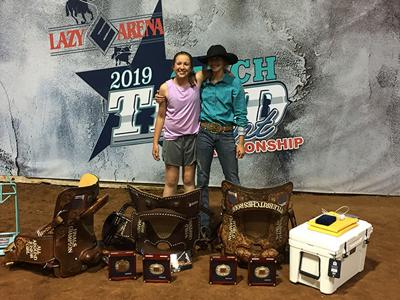 Grubb sisters compete at National Little Britches Rodeo
