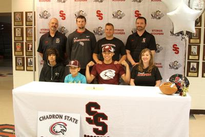 Scooper Stabber to play football  at Chadron State