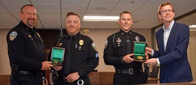 Sturgis officers awarded prestigious Carnegie Medal