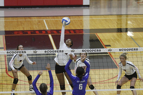 Sturgis volleyball team defeats Hot Springs