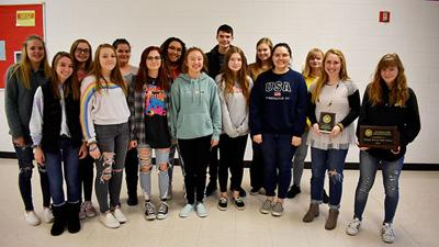SBHS journalism students take state sweepstakes