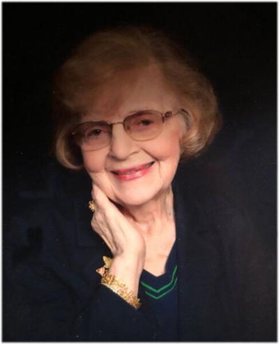 Nadine Lena Miller Fidler, 90