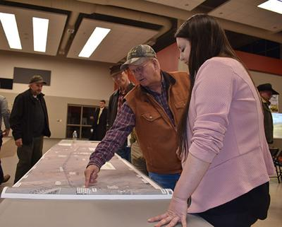 Meade Co. ranchers not happy with road plan