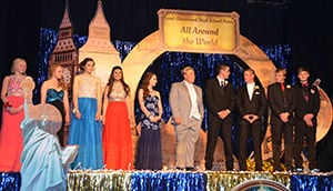 'All Around the World' themes LDHS prom