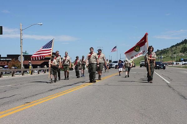 Northern Hills Parades roll through