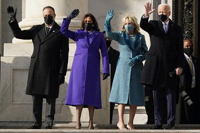Biden, Harris inauguration ceremony held Wednesday
