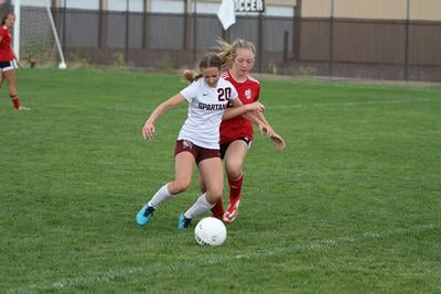 Spearfish girls drop home soccer game