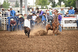 South Dakota High School Rodeo Finals action