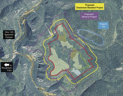 Efforts renewed to mine for gold near Canyon rim