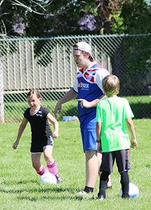British Challenger Soccer Camp underway