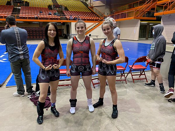 Girls HS wrestling sanctioned and growing in popularity in SD