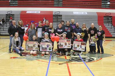 Sturgis cheer and dance honored