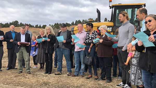 Foothills Community Church breaks ground on new building