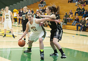 BHSU women's basketball game against Colorado Springs