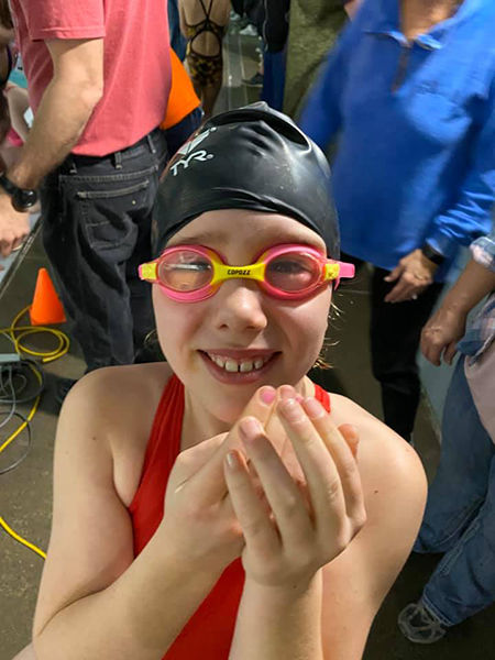 BH Gold swim team competes in Deadwood