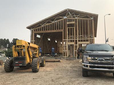 New Lead building to be 'man cave'