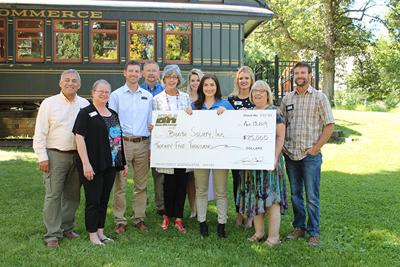 BH Energy donates $25,000 to Booth Society to support land acquisition at hatchery