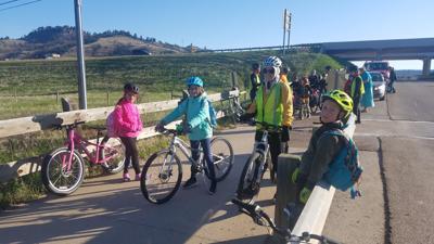 Mountain biking camp set