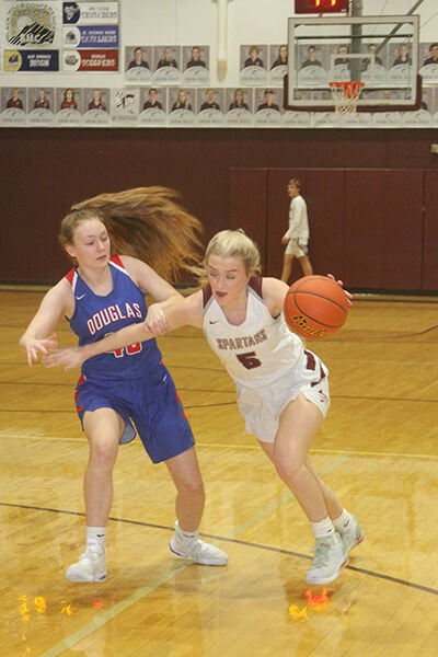 Spearfish girls conquer Douglas at home, 56-27