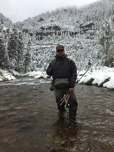 Winter fishing requires something extra