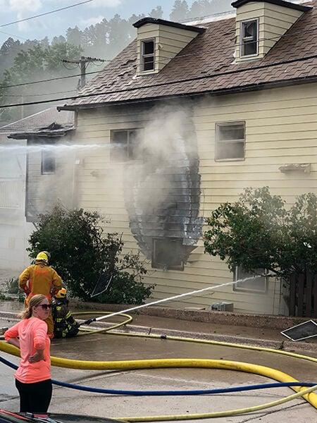 Man suffers life-threatening injuries after Saturday blaze